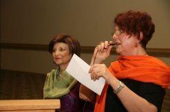Dr. Carmen Tafolla & Angelika Jansen Brown